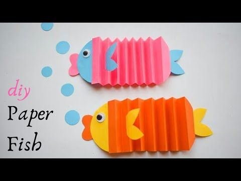How To Make Paper Fish Easy Paper Fish Making Easy Paper Fish
