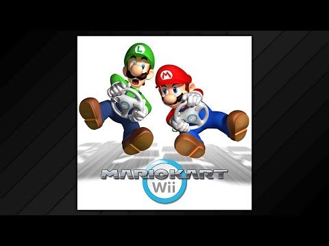 Mario Kart Wii Soundtrack 2008 Youtube Mario Kart Wii Mario Kart Youtube Mario