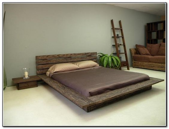 Wood Bed Frame Ideas