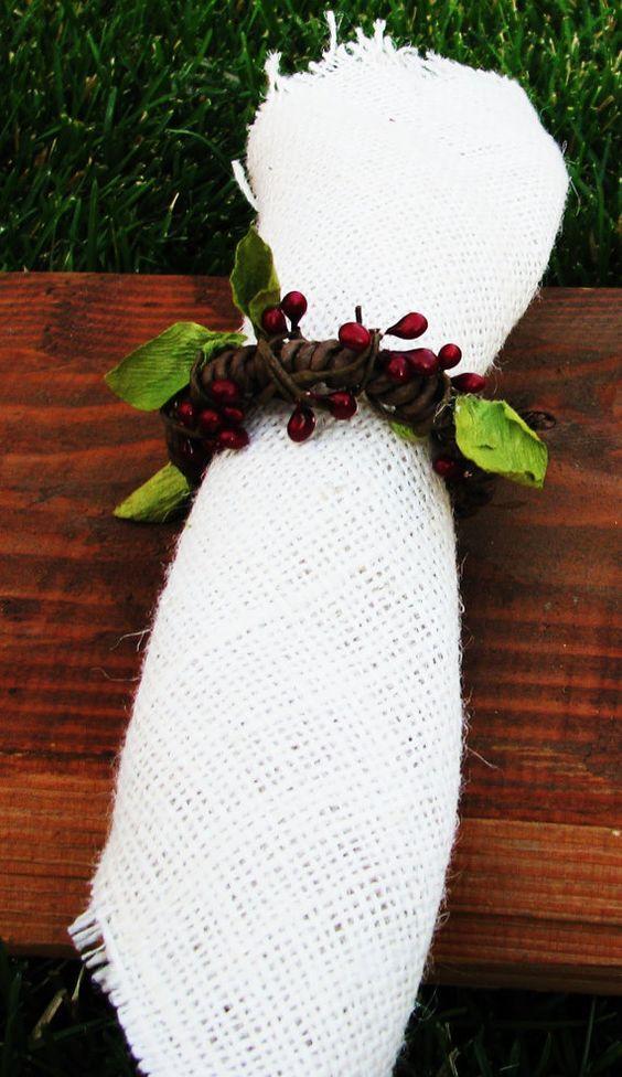 Holiday Napkin Ring Салфетки кольца для салфеток итд