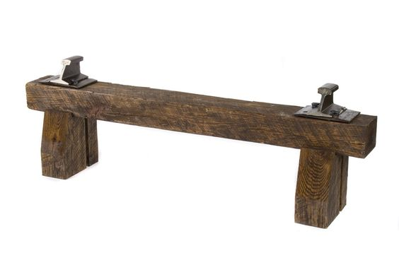 Railroad Tie Bench Inner Design Pinterest We Dining Rooms And Ties