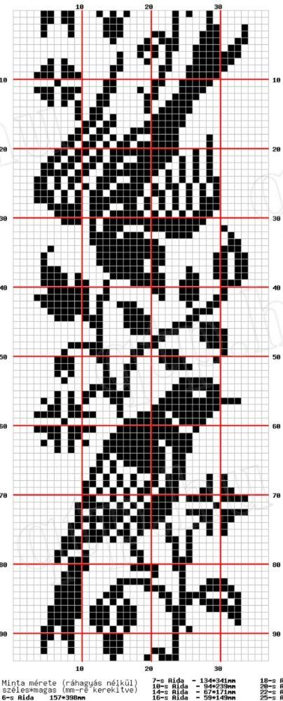 Knitting Cross Stitch Pattern : Fair isle knitting, Cross stitch patterns and Stitch patterns on Pinterest