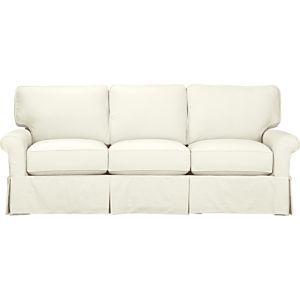 """Axis II Leather 3 Seat 105"""" Grande Sofa"""