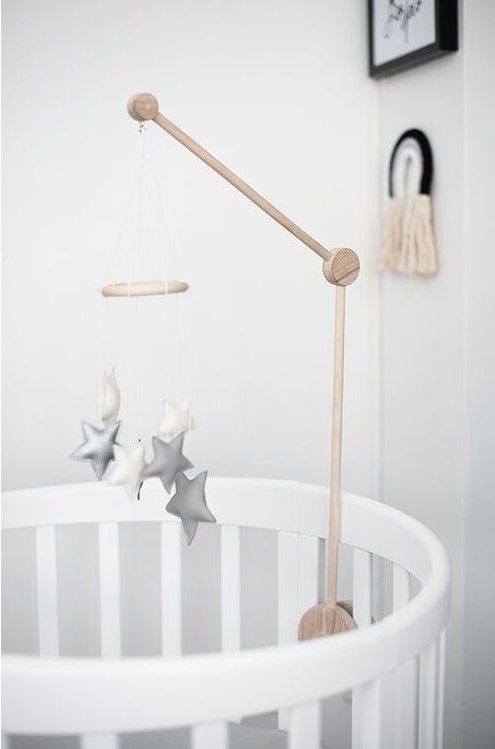 Natural Crib Mobile Arm Baby Crib Mobile Holder Baby And Toddler Nursery Accesories Bedding Play Gyms Bathrobes Crib Mobile Crib Mobile Arm Baby Cribs