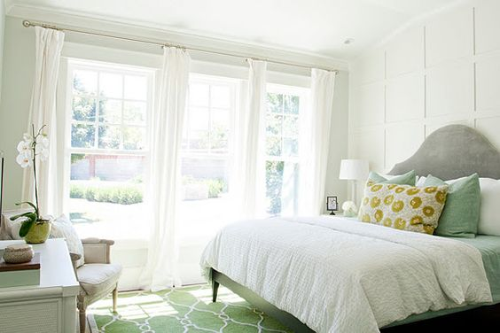 windowed white bedroom