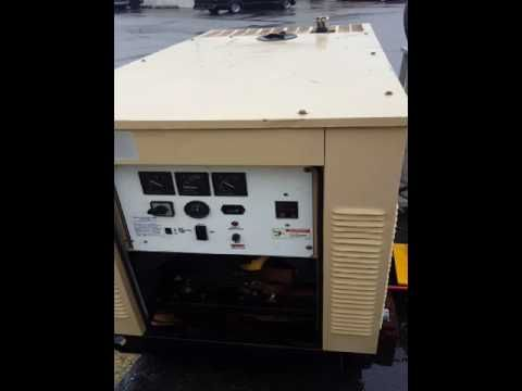 Generac 15kw Natural Gas Generator In 2020 Natural Gas Generator Gas Generator Generator House