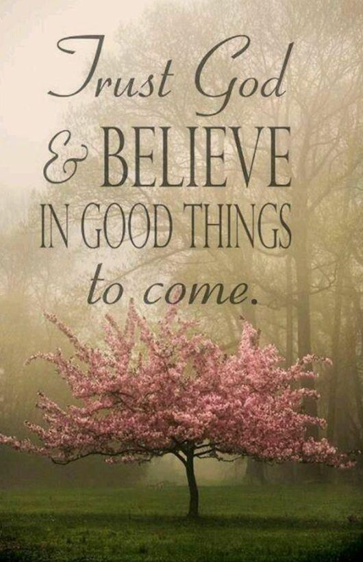Trust God!: