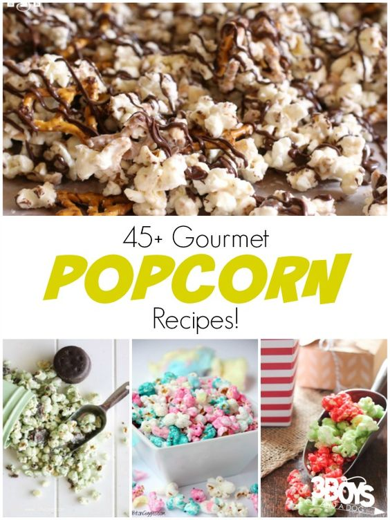 12 Shares Pin12 Tweet Share +1 Stumble EmailPopcorn is best known as a movie night snack, but thanks to tons of DIY popcorn recipes, you can have gourmet popcorn anytime you want! It's still perfect to eat while enjoying a fun movie with the family, but it's also great as a healthy snack, dessert, or […]
