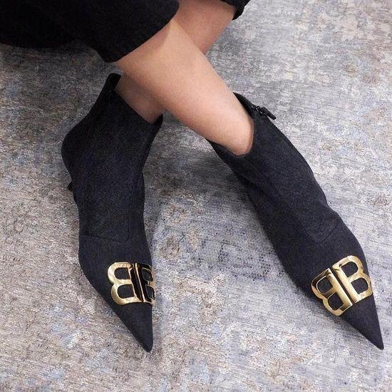 Fashion Look Featuring Balenciaga Boots
