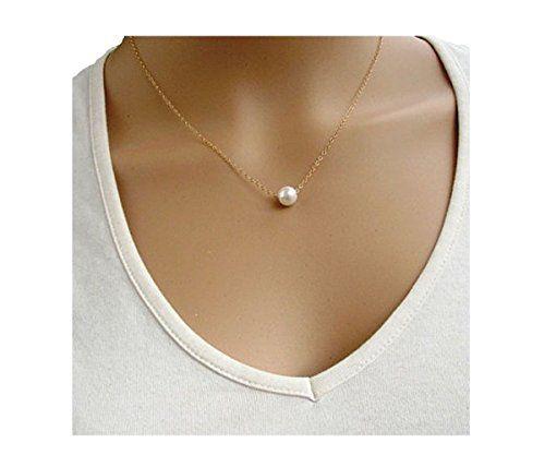 Collier Fantaisie Femme Pas Cher Kolylong Perles Pour Bijoux Femmes Mode Imitate Simple Collier De Perles Bib Choker DéClaration De Collier…