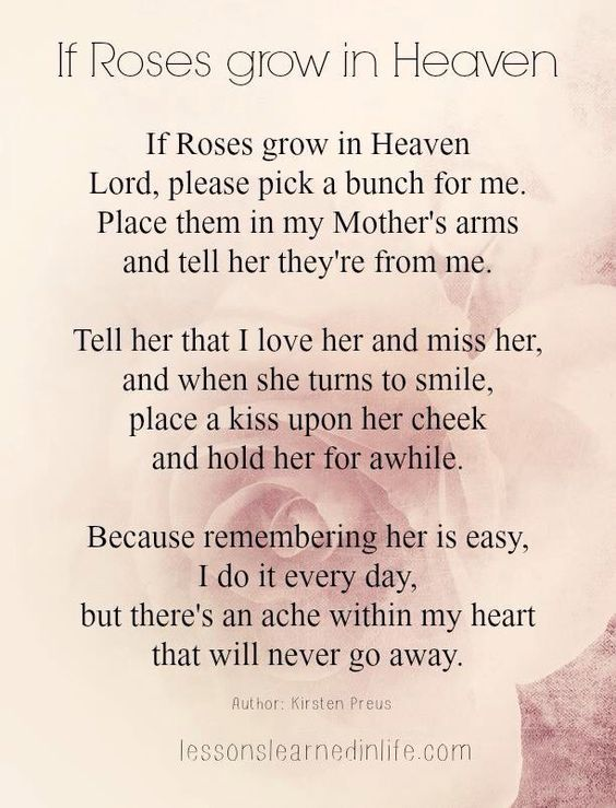 Loss Of Mother Quotes Sympathy Heaven Quotes Mom In Heaven Quotes Mom In Heaven