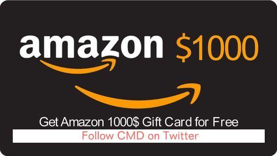 1000 Amazon Gift Card Giveaway Giveawaytoday Thing 1