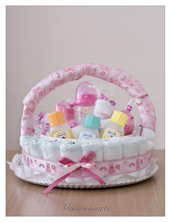 canastas para baby shower bautizo regalo para un bebe garden