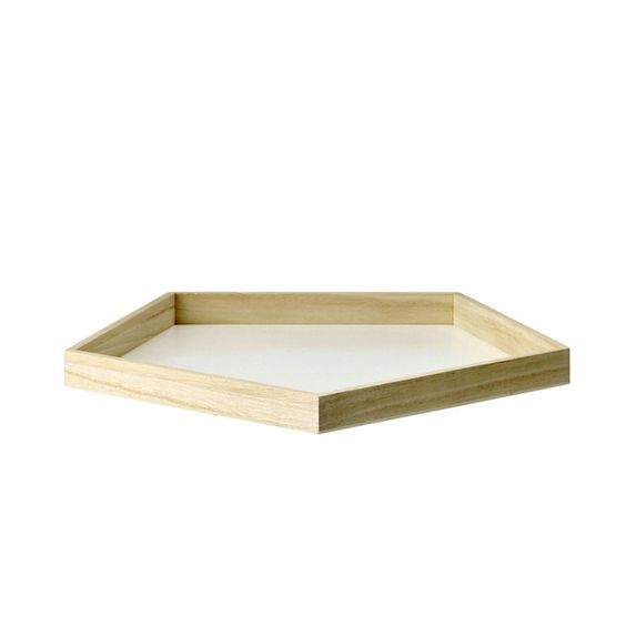 Pentagon Tray - make in shape of diamond from mdf | Tray ...
