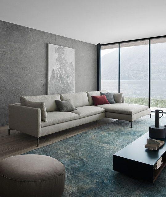 Sitzecke Mit Novamobili Couchtisch Modern Wohnzimmer Berlin