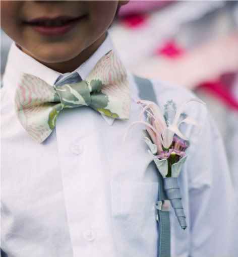Oh, please let more little boys wear bow ties, just adorable!