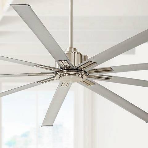 72 Minka Aire Xtreme Brushed Nickel Ceiling Fan In 2020 Ceiling Fan Brushed Nickel Ceiling Fan Silver Ceiling Fan