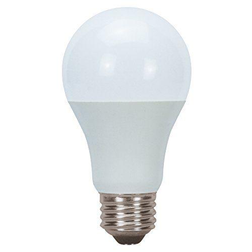 Utilitech 2 Pack 9 Watt 60w Equivalent 3000k A19 Medium Base E 26 Warm White Indoor Led Bulbs Led Light Fixtures Led Light Bulbs Led Light Bulb