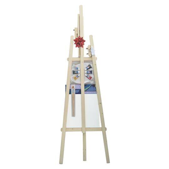 Wooden Floor Art Easel Kit By Artist S Loft Michaels Art