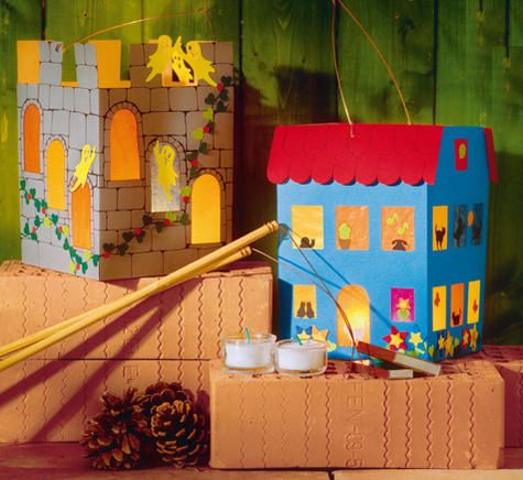 deko basteln and castles on pinterest. Black Bedroom Furniture Sets. Home Design Ideas