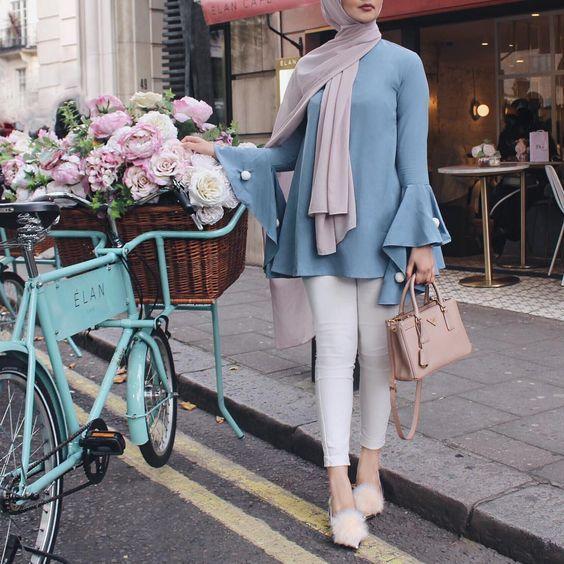 Trend Color Pastel Hijab Outfit Ideas Hijab Fashion Inspiration Modest Fashion Hijab Hijabi Outfits Casual