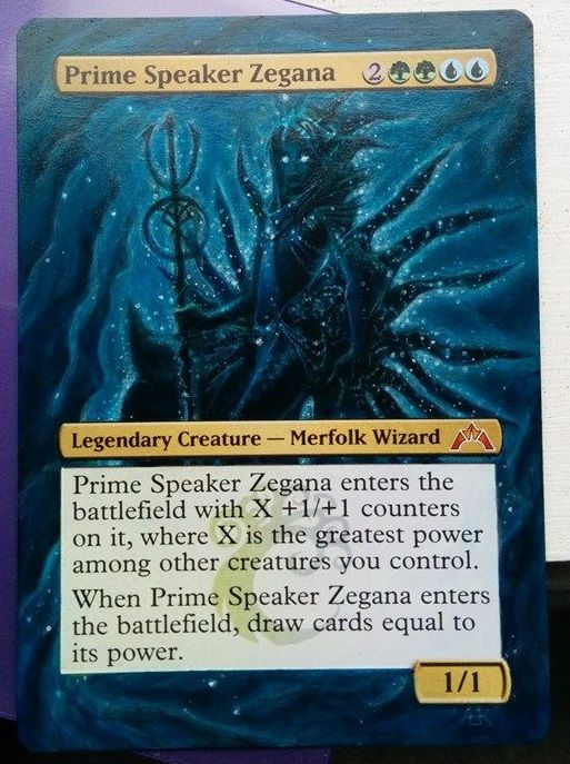 Image result for prime speaker zegana alter  Magic the gathering