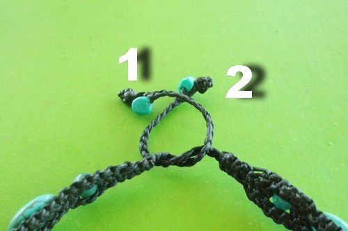 How to tie two braided ends into a decorative knot