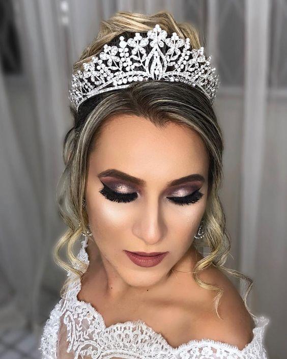 18 ideias de maquiagem para noivas