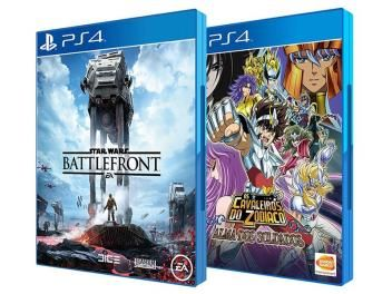 Star Wars: Battlefront EA + Os Cavaleiros do - Zodíaco: Alma dos Soldados Bandai…
