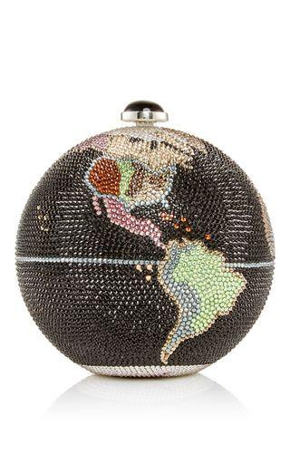 Globe clutch by JUDITH LEIBER for Preorder on Moda Operandi