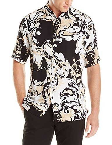 Cubavera Men's Short Sleeve Essential Rayon Print Shirt, Jet Black, Large Cubavera http://www.amazon.com/dp/B00LUMH1Z4/ref=cm_sw_r_pi_dp_-DpBvb12C6P66