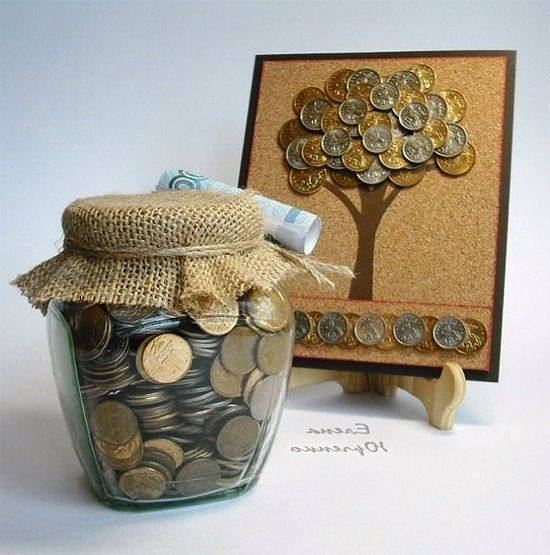 how to decorate money gift: