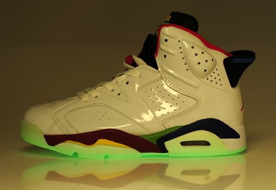 Glow in the Dark Jordan 6's