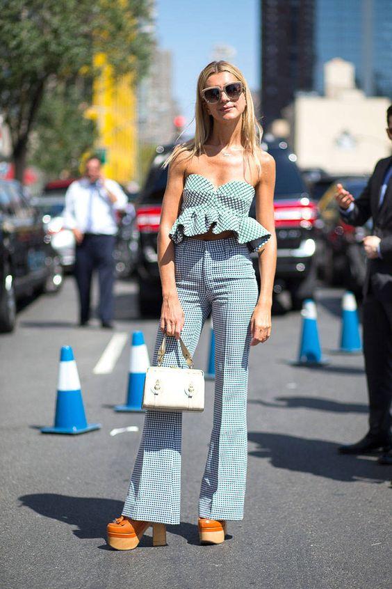 New York Spring 2015 Street Style - Street Style - Harper's BAZAAR #NYFW