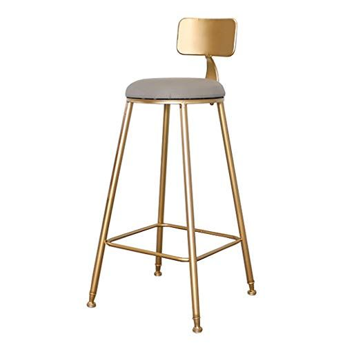 Barstools Metal Faux Leather Upholstered Bar Stools With Back Rest Counter Height Barstools With Gold L Upholstered Bar Stools Bar Stools With Backs Bar Stools