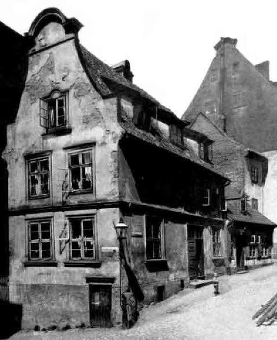 Altes Haus in der Löbenichter Unterbergstrasse, Königsberg/Pr.