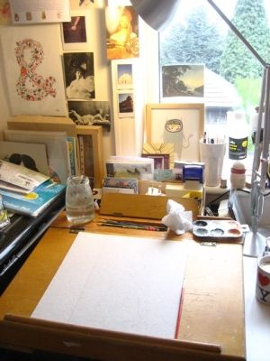 studio space by สายลม เจ้าสำราญ