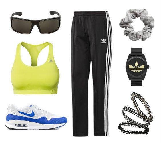 DIY Spice Girls costume - Sporty Spice