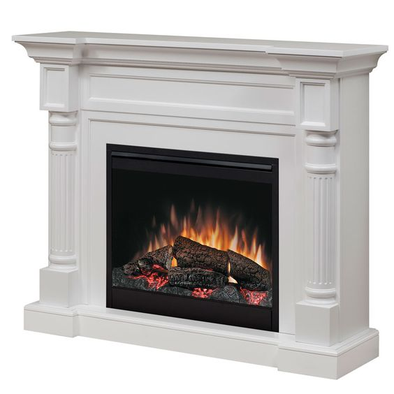 Winston Electric Fireplace Mantel Package In White Dfp26 1109w
