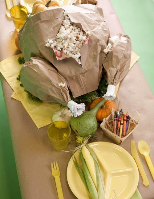 3 Tips for the Best #Thanksgiving Kids Table