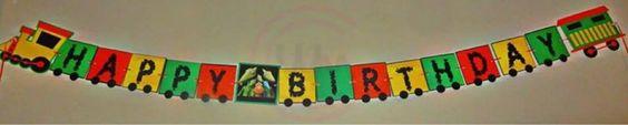 Dinosaur Train Birthday Banner