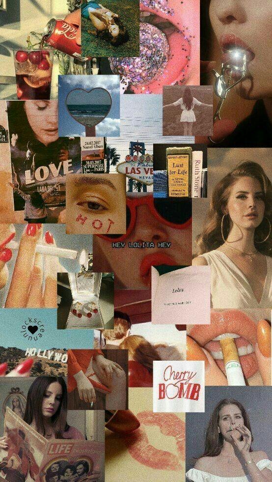Pin By Vintage Aesthetic On C O L L A G E A R T Iphone Wallpaper Aesthetic Iphone Wallpaper Lana Del Rey Art