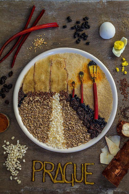 Food Art by AKJ (Anna Keville Joyce)