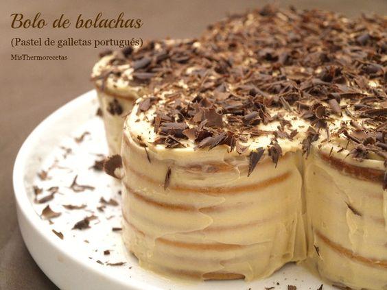 Bolo de bolachas (Pastel de galletas portugués)