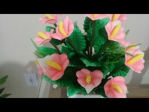 Copo De Leite Mexicano M Youtube Flor De Papel Molde Flores