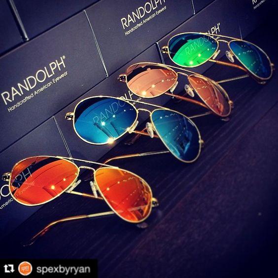 Concorde Flashes, an essential part of your wardrobe. #SummerIsComing. #Repost @spexbyryan with @repostapp. ・・・ #RandolphUSA #MyRandolphs #Sunglasses #SummerShades #SummerFashion #MadeInUSA