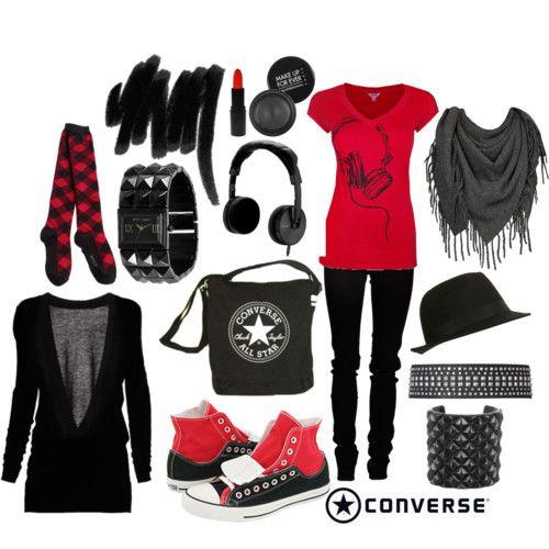 Emo outfits | Emo obleu010denie u00ab Category | anime-emo-world | emo clothes and shoes | Pinterest ...