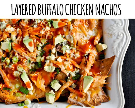 buffalo nachos buffalo chicken nachos buffalo chicken recipes ...