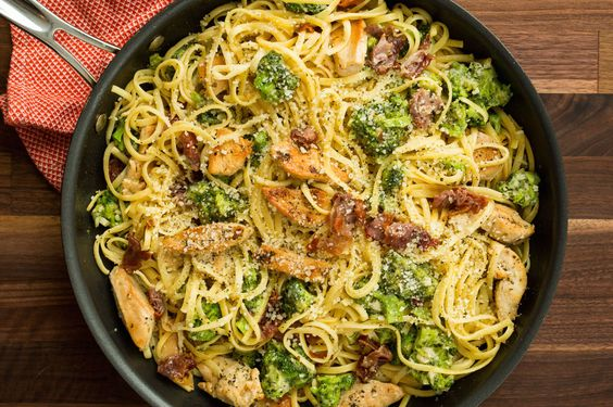 Prosciutto-Chicken Pasta