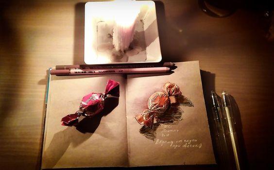 """Дорогие мои, с Рождеством! - Мила Наумова: """"Рисовать могут ВСЕ!"""""""